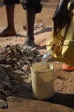 Water in rural Africa Stock Image