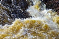 Water rush. Royalty Free Stock Photo