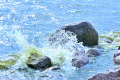 Water rushing Royalty Free Stock Photography