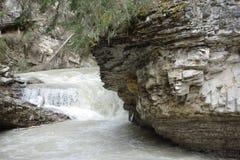 Water rushing down a mountain, Stock Photo