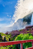 Water rushing over Niagara Falls. New York USA Stock Image