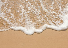 Water sand Royalty Free Stock Photo