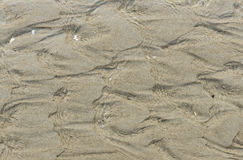 Water and Sand Pattern Stock Image