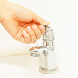 Water saving Royalty Free Stock Image