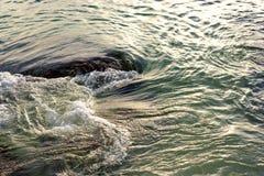 Water sea movement Stock Image