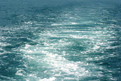 Water of sea or ocean. For background Royalty Free Stock Images