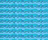 Water sea ocean aqua waves wave blue pattern seamless calm tide. Roller wash texture wallpaper paper background design. Vector horizontal closeup beautiful side royalty free illustration