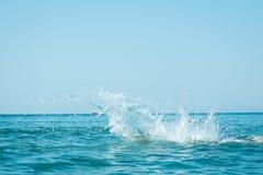 Water sea splash Stock Photos