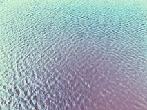 Water sea vintage photography wave close up. View from above Royalty Free Stock Photography