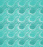 Water seamless pattern. Vector illustration Royalty Free Stock Image
