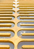 Water sedimentation. Sedimentation of the water, in the process of good water Royalty Free Stock Photo