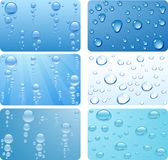 Water set. Royalty Free Stock Photos