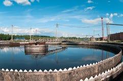 Water sewage station Royalty Free Stock Photos