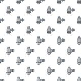 Water sewer sump pattern seamless Royalty Free Stock Image