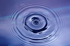 Water shapes Royalty Free Stock Images