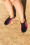 Water shoe Royalty Free Stock Images