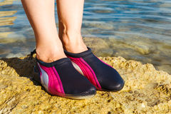 Water shoe Royalty Free Stock Photos