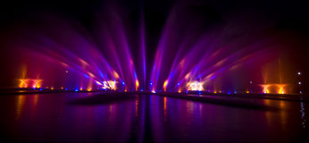 Water show Stock Images