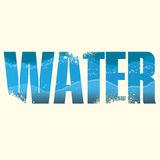 Water sign Stock Images