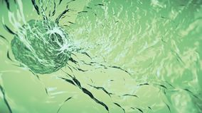Inside soft moving water swirl simulation animation background new nature digital quality cool beautiful nice video. Water simulation animation background new stock video footage