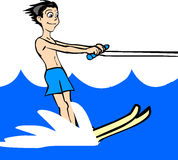 Water Ski Royalty Free Stock Photography