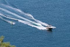 Water ski Royalty Free Stock Images