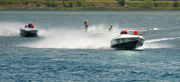 Water Ski Racing Royalty Free Stock Image