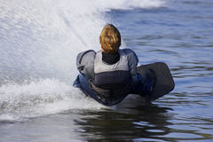 Water skier Stock Images