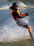 Water skier, Lublin, Poland Royalty Free Stock Photos