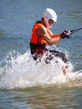 Water skier, Lublin, Poland Stock Photos