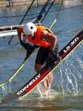 Water skier, Lublin, Poland Royalty Free Stock Images