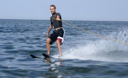 Water skiing Stock Photos