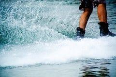 Water skiing Royalty Free Stock Image