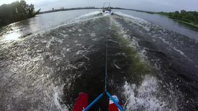 Water skiing first person view