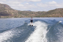 Water skiing Girl Stock Image
