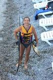 Water skiing stock photos