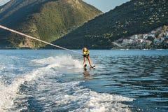 Water skiing Stock Image