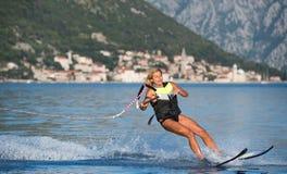 Water skiing Stock Photo