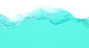 Water slice. Slice of clear cool water Royalty Free Stock Photography