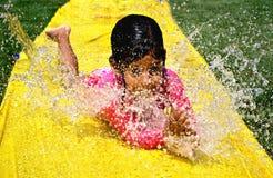 Water slide Stock Photo