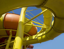 Water slide Royalty Free Stock Images