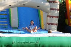 Water slide Royalty Free Stock Image