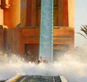 Water Slide Stock Photography