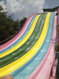 Water Slide Amusement Ride Stock Image