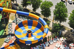 Water slide in Aqua Magic Park Royalty Free Stock Images