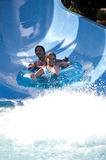 Water slide fun Royalty Free Stock Photo