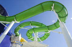 Water Slide on NCL Royalty Free Stock Photos