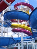 Water Slide on Norwegian Breakaway Stock Photography
