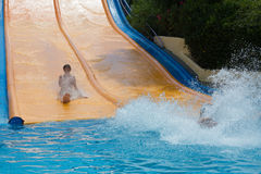 Water slide at Water Park Royalty Free Stock Photography