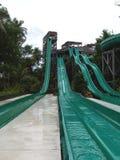 Water slides. Asia stock photo